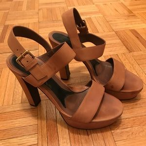 Marni sandals in dusty rose